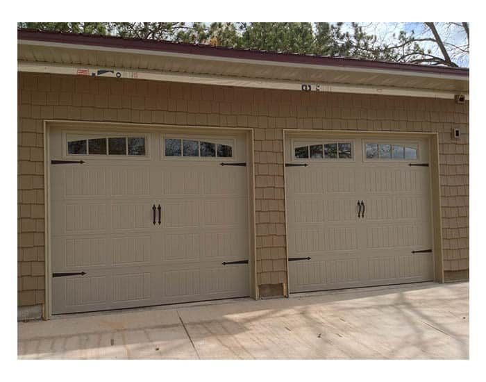Door garage overhead