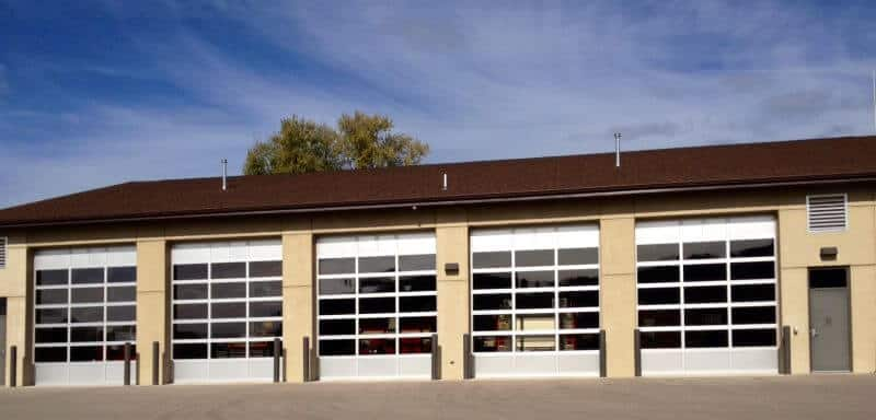 521-02CA Commercial Aluminum Doors with Windows
