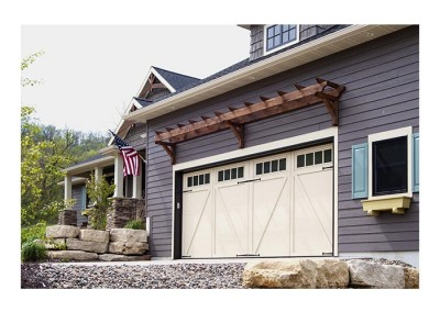 Courtyard Collection Series 160 garage doors
