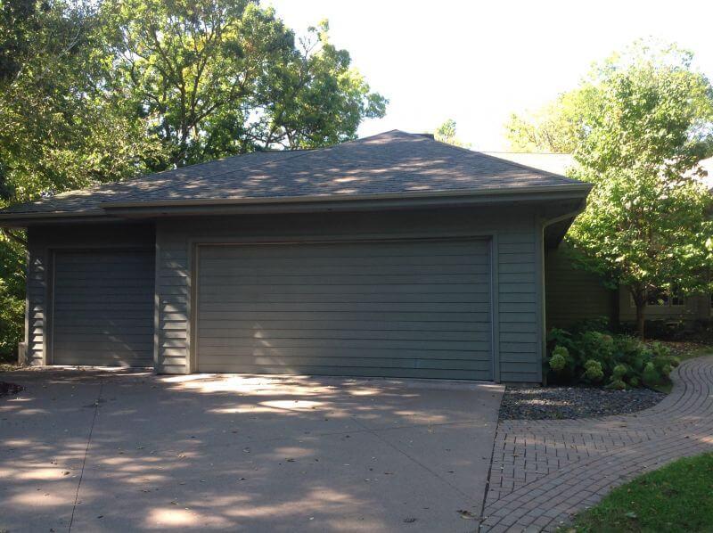 Courtyard doors courtyard collection garage doors for 18 x 9 garage door