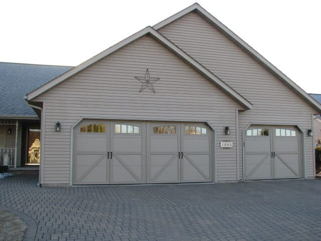 Courtyard collection series 160 garage doors overhead for 12 x 7 garage door price
