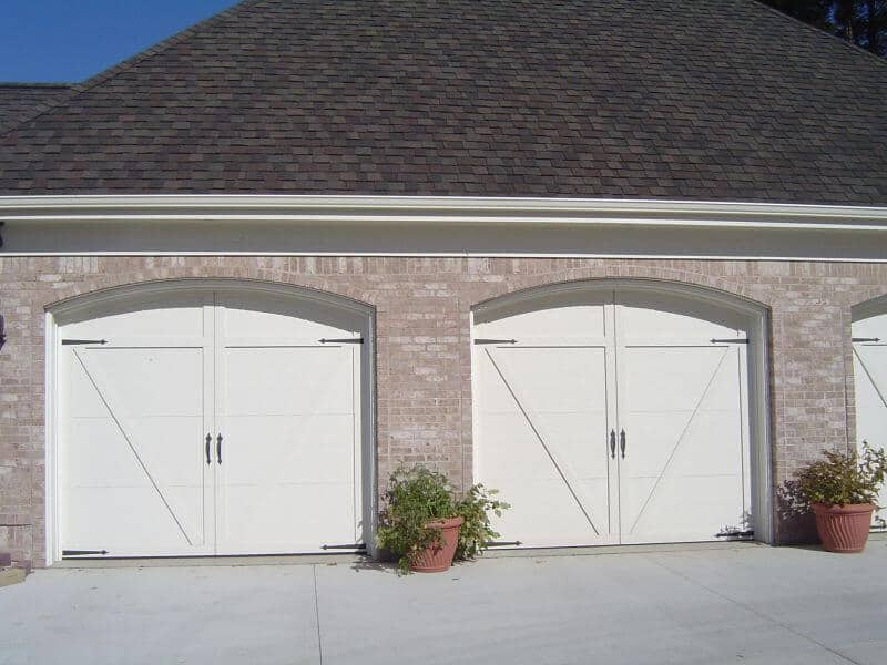 166t 02ra 9 x 7 courtyard with custom arch to match for 18 x7 garage door