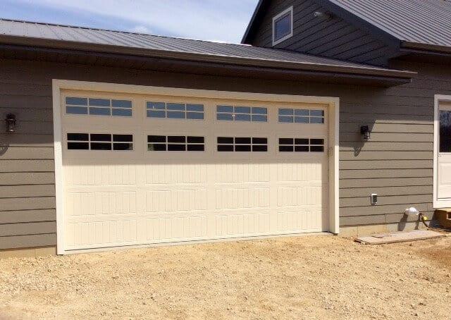 almond garage doorThermacore Premium Insulated Series 190490 garage doors