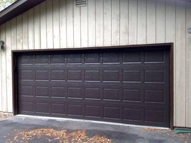 19406ra 16 x 7 thermacore door brown standard panel