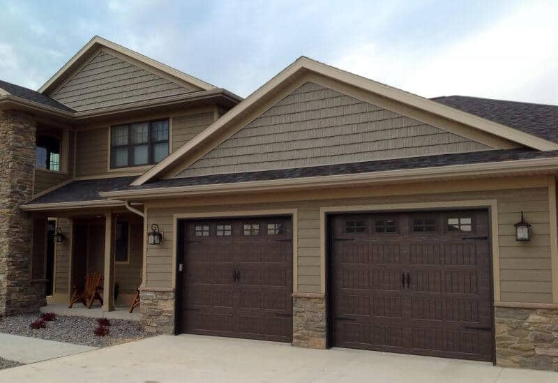 Brown Garage Doors With Windows thermacore® premium insulated series 190-490 garage doors