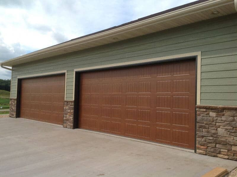 garage 18 foot garage door 18 x 24 garage prices quotes