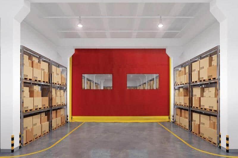 High Speed Interior Fabric Door – 991